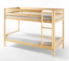 Kinder-Bettgestelle ohne Matratze mit Lattenrost und Natur