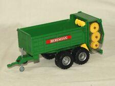 Siku Farmer 2964 1:32 Bergmann Stalldungstreuer Anhänger grün