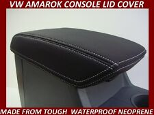 VW AMAROK NEOPRENE  CONSOLE LID COVER (WETSUIT MATERIAL) SUITS NOV2011-CURRENT