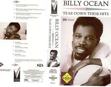 BILLY OCEAN - TEAR DOWN THESE HITS - VHS - NEW - Never played -Very rare!! - PAL