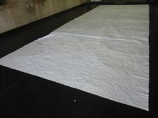 PVC Folie Abdeckplane LKW Plane 8,20m x 3,20m ca. 500g/qm weiß B-Ware