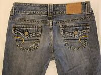 American Eagle Womens size 4 Reg Low Rise Stretch Jeans   (E93)