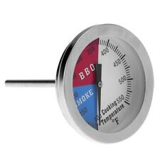 BBQ Smoker Grill Stainless Steel Thermometer Temperature Gauge Probe Meat Food