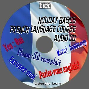 HOLIDAY FRENCH LANGUAGE COURSE SIMPLE TO LEARN ESSENTIAL WORDS PHRASES AUDIO CD