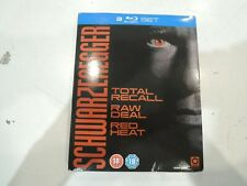 Schwarzenegger Collection Total Recall Red Heat Raw Deal Blu-ray