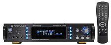"""Rockville RPA6000USB 19"""" 1000w 2 Chan DJ/Pro/Karaoke Amplifier/Mixer Amp w/ USB"""