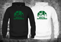 NEW! SEATTLE SUPERSONICS LOGO Hoodie Sweatshirts XS-XL