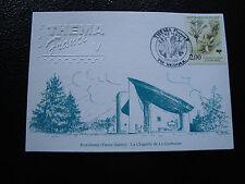 FRANCE - carte 19/9/1997 ronchamp la chapelle de le corbusier (cy51) french