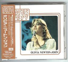 CD OLIVIA NEWTON-JOHN SUPER BEST Reissue Japan EMI TOCP-9152 incl. OBI