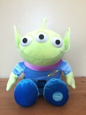 "Toy Story Pizza Planet Alien 13"" Disney Store Exclusive Plush Stuffed Toy Animal"