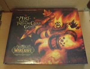 WORLD OF WARCRAFT THE ART OF THE TRADING CARD GAME VOLUME 1 NEW HARDCOVER BOOK
