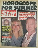 Star Tabloid May 29 1984 Liz Taylor Johnny Carson Michael Jackson - Horoscope