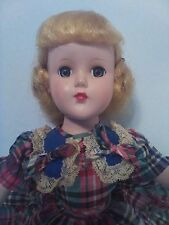 Vintage Arranbee Nanette Doll Blond, Blue Eyes, Very Good Condition!