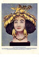 Mesopotanischer Bijoux de cheveux C. LEONARD woolley expédition britannique musée 1929