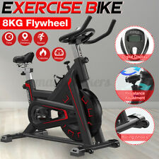 Indoor Exercise Bike Stationary Cycling Bicycle Cardio Fitness Workout Home Gym