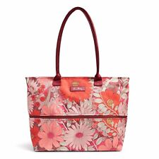 "Vera Bradley Beautiful ""Bohemian Blooms"" Lighten Up Expandable Travel Tote NWT!"