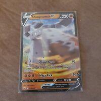 Stonjourner V 115/202 - Sword and Shield - Holo - Pokemon - NM Condition
