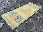 Small rug, Doormats, Bohemian rugs, Natural dyed rug, Soft, Wool   1,4 x 3,3 ft
