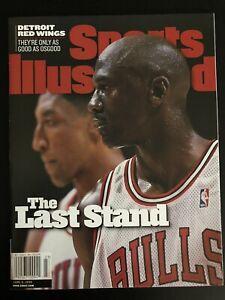 June 8 1998 Sports Illustrated Michael Jordan Bulls Last Stand NO LABEL EX/MT