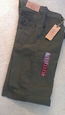 New Georgetown Denim Men's Pants, 36X34, Olive with Tags