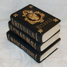 Halloween Decorative Book Stack 7� Figure Skull Tabletop Accent Decor Gothic