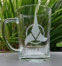 Star Trek Klingon Empire Engraved Glass Tankard - Personalised