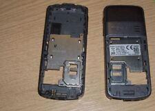 Genuine Nokia 3109 3109c  Back Housing Fascia Cover Grey With Mic & Power Socket