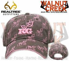 Realtree Girl Multi RG Brown Logo Hat Cap RG203BR