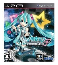 HATSUNE MIKU PROJECT DIVA F PS3 PlayStation 3 BRAND NEW FREE SHIPPING