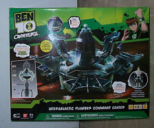 BEN 10 TEN INTERGALACTIC PLUMBER COMMAND CENT + PETALLIDAY EXCLUSIVE FIGURE
