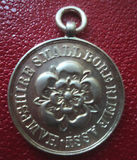 Hampshire Small Bore Rifle Assn Silver Shooting Medal 1956 Chester  not engraved