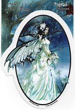 MIST BRIDE Bridal Faerie Wedding Fairy Sticker Car Decal Nene Thomas faery