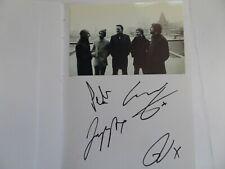 More details for elbow , autographed 8 x 6 album page.