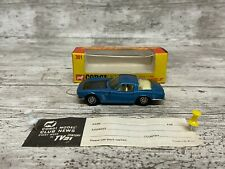Corgi Toys No. 301, ISO Grifo 7 Litre - Superb Mint with Box.