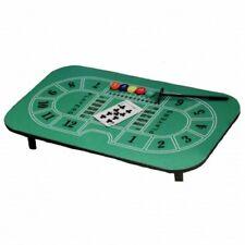 """Casino-Tisch """"Blackjack"""" Kartenspiele-Zocker-Tisch mit Filzbezug inkl. Zubehör"""