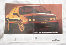 Ford Falcon XR8 XR6 Original Advertisement Removed from a magazine