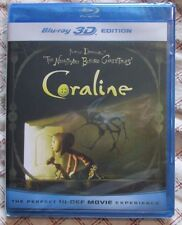 Blu-ray 3D - Coraline (Brand new -Panasonic Exclusive)