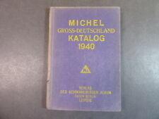 "1940, ""Michel Gross Deutschland Katalog"", Bedarfserhaltung, selten !"