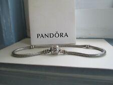 """Authentic Pandora  sterling Silver Bracelet  925 ALE 8.3"""""""