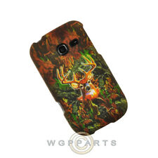 Samsung R480 Freeform 5 Shield Camo Deer Hunter WFL025 Case Cover Protector