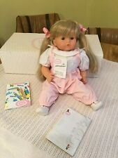 "Vintage 1991 Gotz Doll ""Iris"" Original Box 17"" Poupee & Label West Germany 12005"
