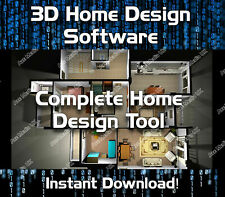 3D CAD HOME & OFFICE DESIGN - KITCHEN BATHROOM STUDY - SOFTWARE DOWNLOAD