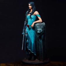 1:24 Female Swordsman Unpainted Resin Model Kit