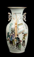 China 20. Porzellan -A Chinese Canton Style Porcelain Vase - Vaso Cinese Chinois