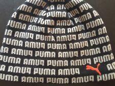 New PUMA Unisex Jumpcat + Logo Beanie Hat Skull Toque Knit Cap One Size RARE