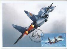 maxi card 2 fighter MIG 29 Bulgaria 2019 Aviation Air Force Mi BG 5431