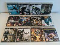 X12 PS3 Games Bundle - Watch Dogs, Destiny, Brink Infamous, Crysis 2, Batman ETC