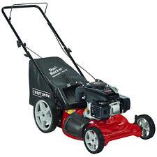 "Craftsman 149cc 21"" Kohler 675 Ohv Engine, Gas Bag Push Lawn Mower High-Wheels"