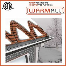 Electric De-icing Roof and Gutter Cable - 120V - 200 Ft