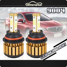 2PCS 9004 LED Headlight 2000W 300000LM Kit Hi/Lo Car Light Kit Bulbs White 6000K